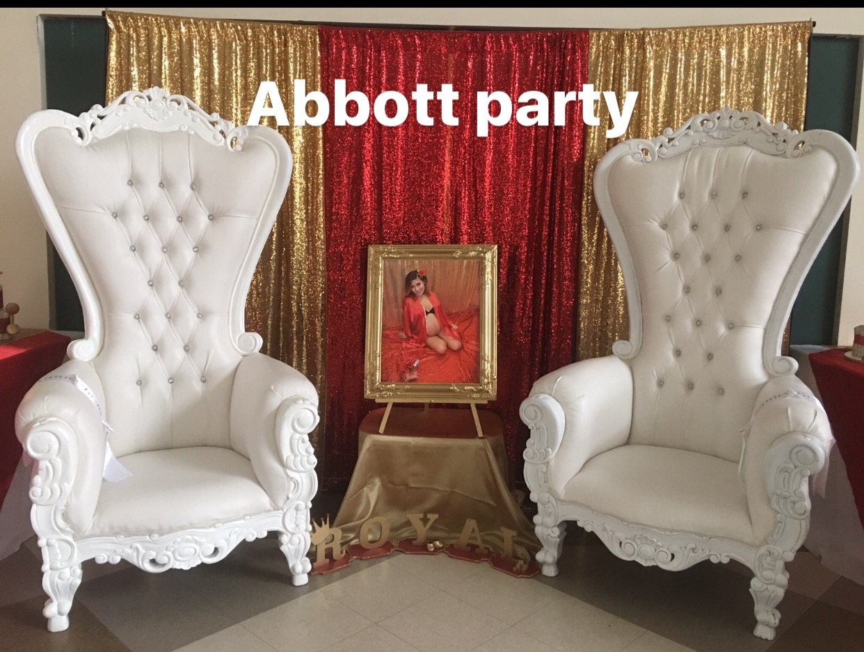 Throne Chair Rental Party Rental Table Chair Rentals