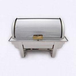 8 Quart Oblong Roll Top Stainless