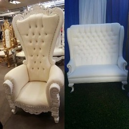 Baby Showers Bridal Throne Chairs Ballroom Chairs Wicker