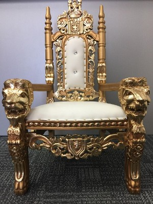 Kids Prince Throne Chair