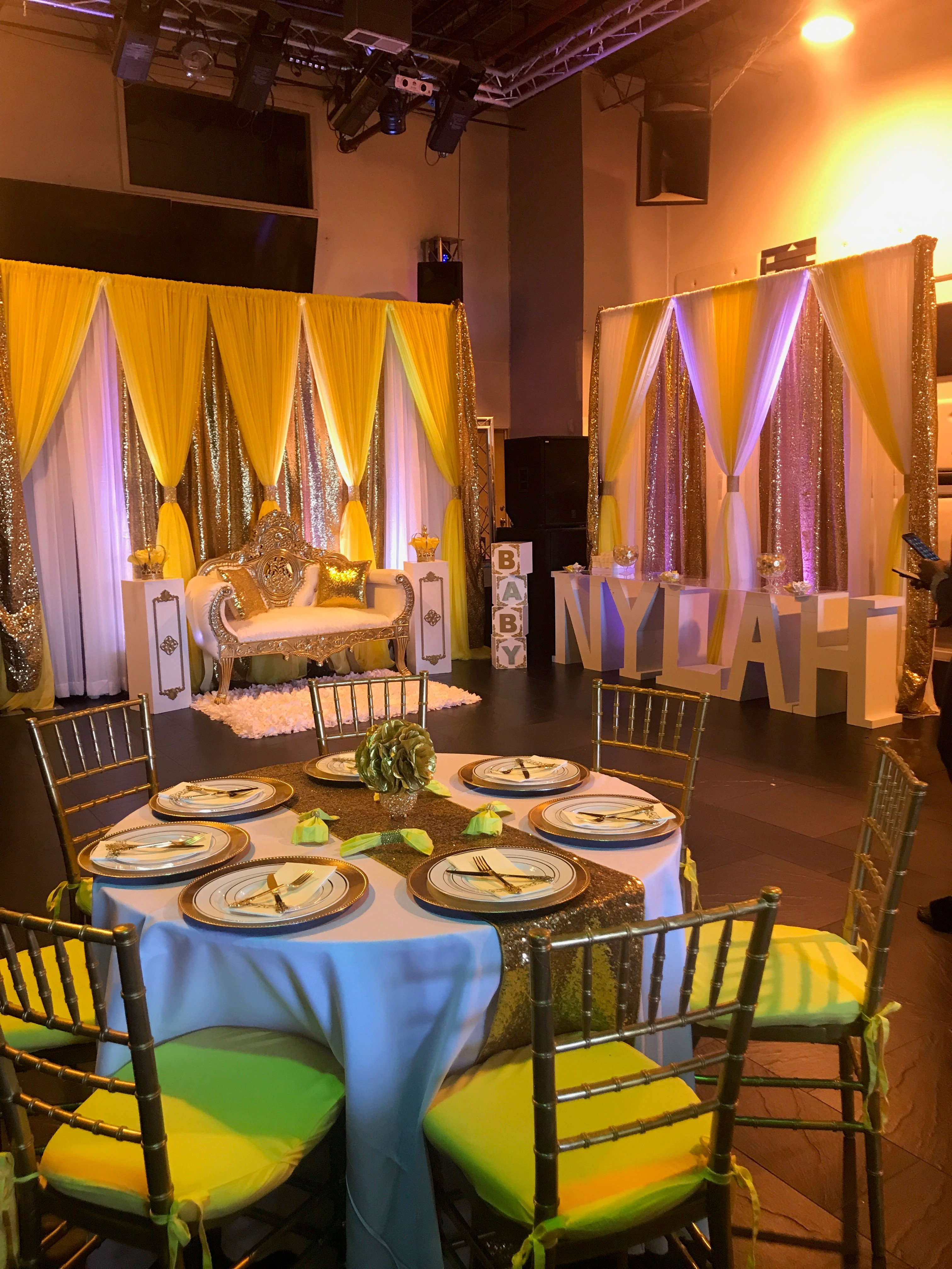 Baby Shower Rental